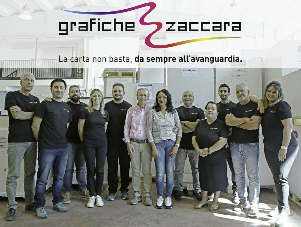 foto staff Tipografia Grafiche Zaccara